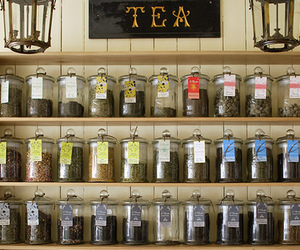 tea and jar image