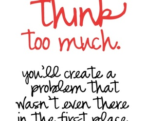 quotes, think, and problem image