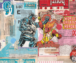 Collage, comic books, and 5003 image