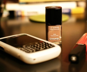 chanel, blackberry, and phone image