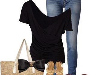 clothes, outfit, and outing image
