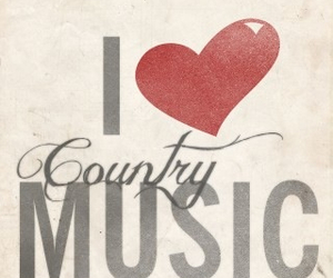 country, country music, and love image