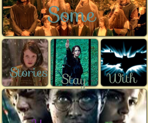 batman, harry potter, and lord of the rings image