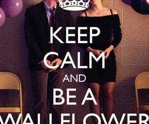 keep calm, emma watson, and the perks of being a wallflower image