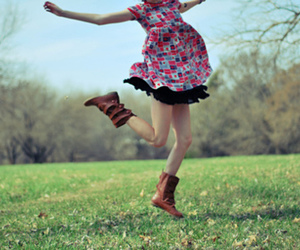 girl, photography, and boots image