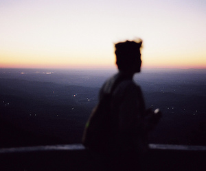 boy, photography, and alone image