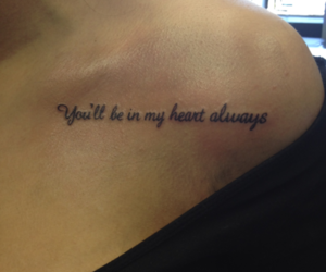 tattoo, heart, and quote image