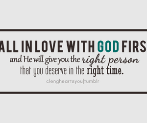 god and fall in love image