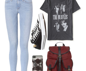 converse, music, and the beatles image