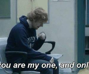 ed sheeran, Lyrics, and small bump image