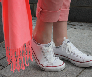 brown, converse, and fashion image