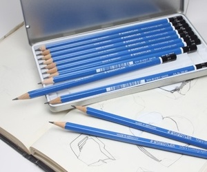 draw, pencil, and staedtler image