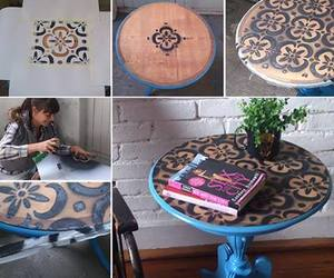 diy, paint, and table image
