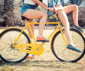 bike, colorful, and colors image