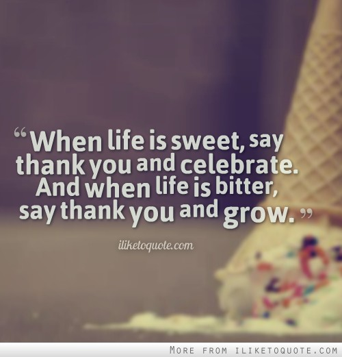 sweet quotes about life