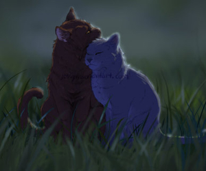 bluestar, oakheart, and love image