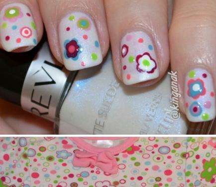 Nail Art How To Tutorial Step By Step Nail Designs Nails Kinga