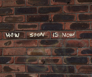 brick wall, morrisey, and how soon is now image