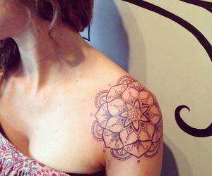 beautiful, pattern, and flower image
