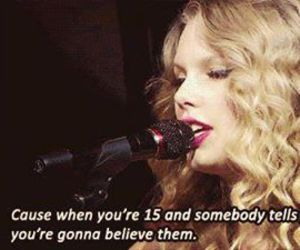 Taylor Swift and believe image
