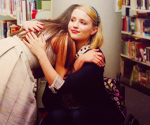 blonde, glee, and lea michele image