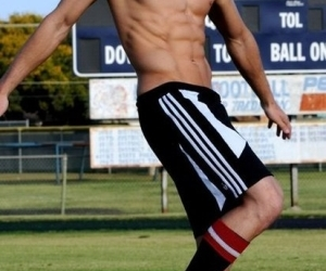 soccer, Hot, and boy image