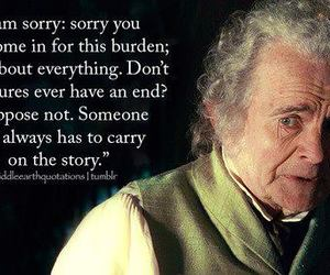 lord of the rings, LOTR, and quotes image
