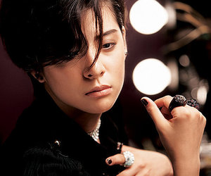 amber, black hair, and cool image
