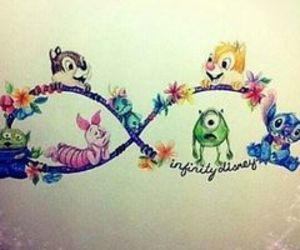 disney, Forever Young, and infinity image