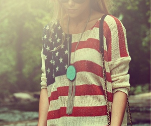 fashion, usa, and outfit image