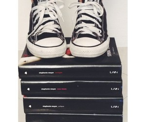 books, converse, and eclipse image