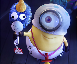 minions, unicorn, and baby image