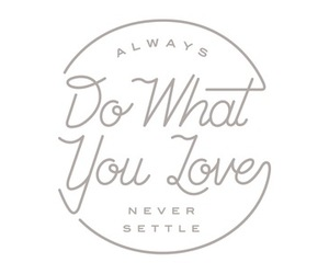 quote, love, and do image