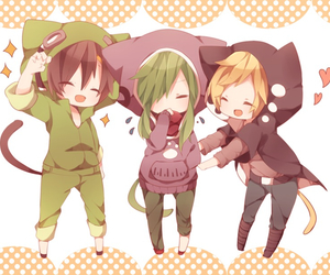 anime, kagerou project, and neko image