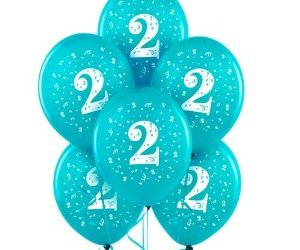 balloons, birthday, and 2nd image