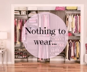 clothes, nothing, and wear image