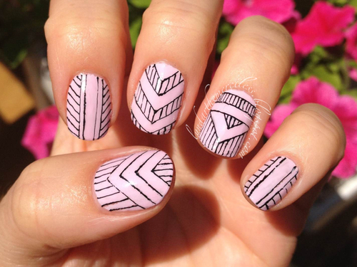 Nails On Tumblr Uploaded By Electric Love On We Heart It