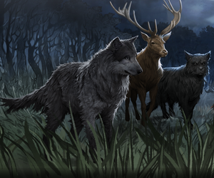 harry potter, marauders, and prongs image