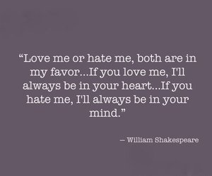 hate, love, and mind image