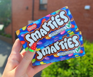 smarties, food, and candy image