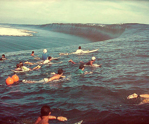 ocean, photography, and surf image