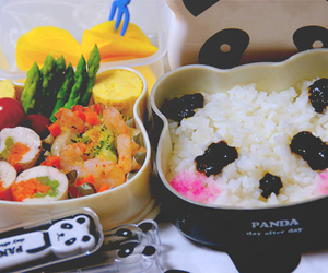 food, panda, and kawaii image