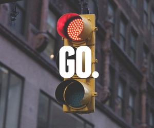 go and red image
