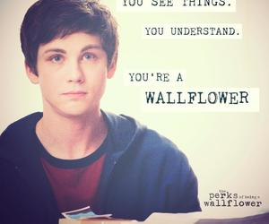 logan lerman, wallflower, and the perks of being a wallflower image