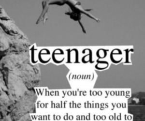 teenager, quote, and young image