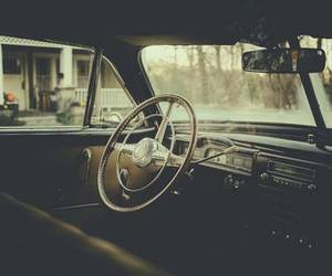car, vintage, and old image