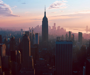 broadway, city, and nyc image