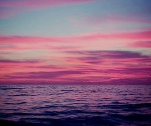 colors, sea, and sky image