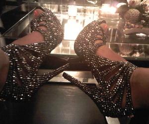 fashion, feet, and glitter image