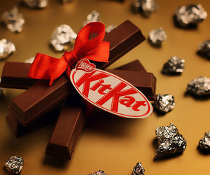 chocolate, kit kat, and kitkat image